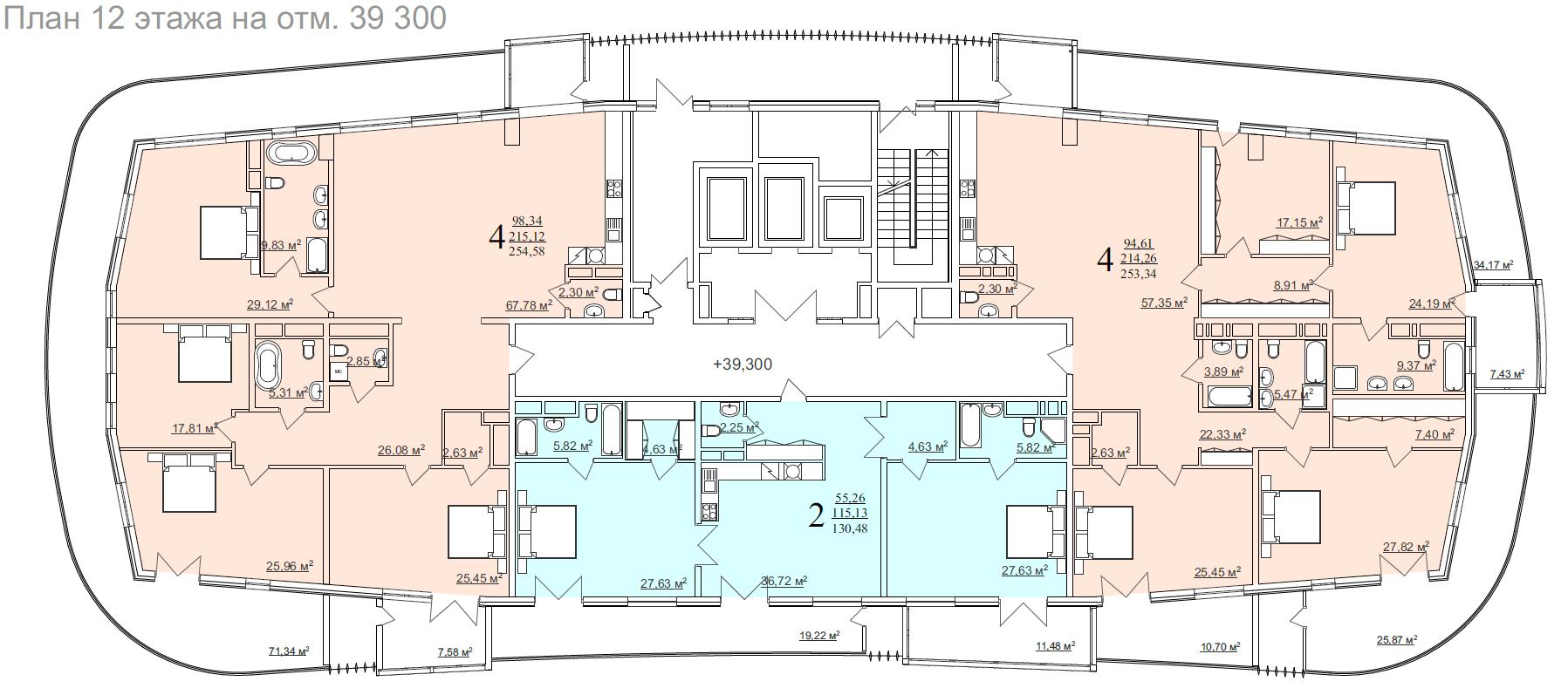 12 этаж