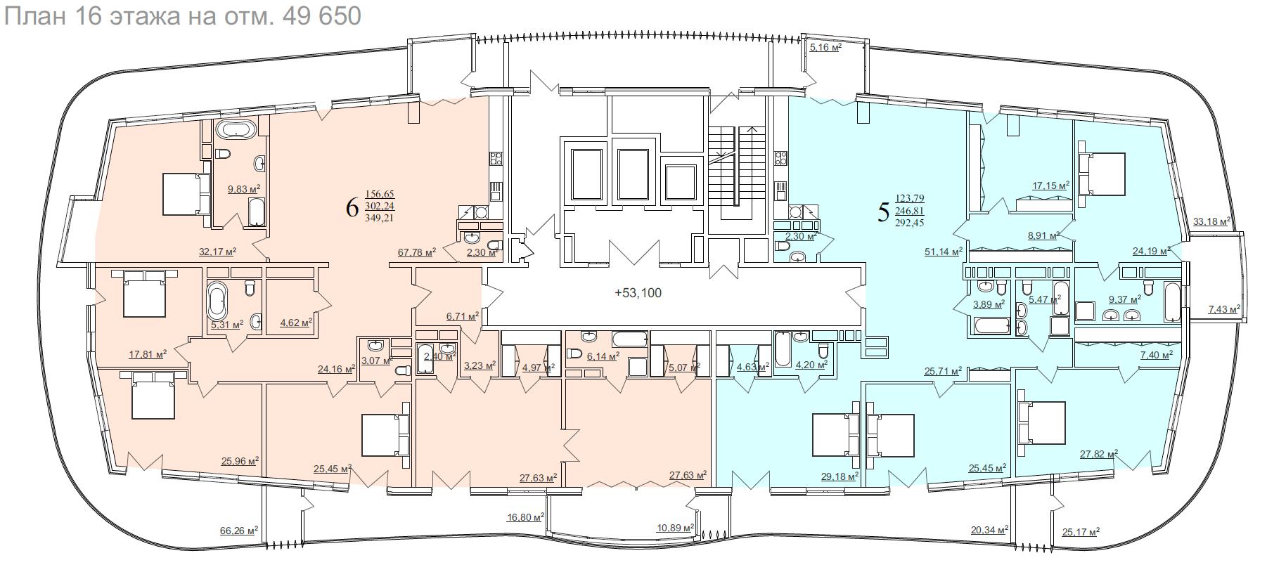 16 этаж